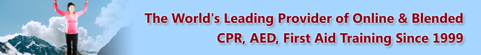 Emergency University is the World's Leading Provider of Online and Blended CPR, AED, First Aid Training Since 1999
