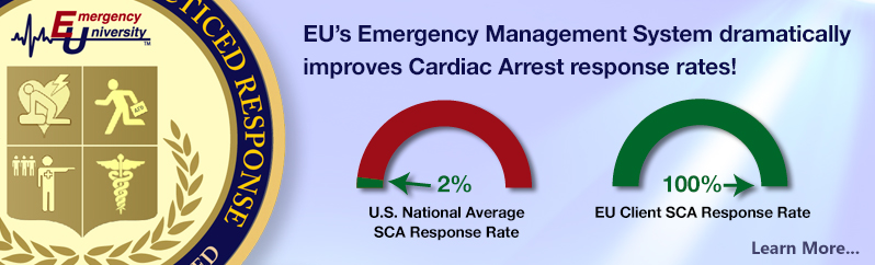 EU's Emergency Management System dramatically improves Cardiac Arrest response rates!
