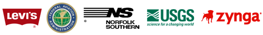 Emergency University AED Program Clients Levi Strauss, FAA, Norfolk Southern, USGS, Zynga
