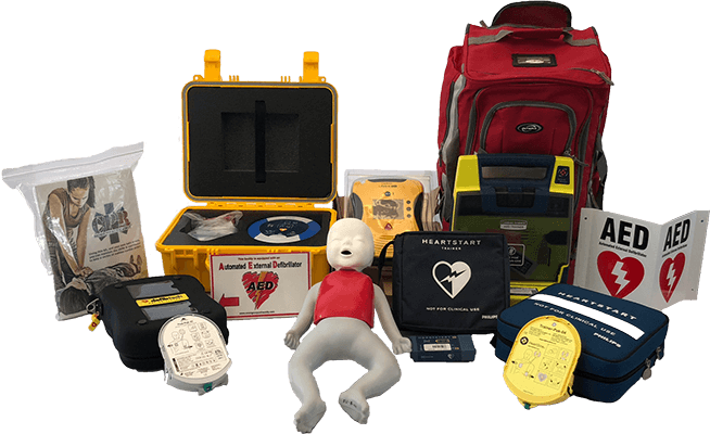 AEDs and Equipment