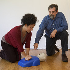 Adult CPR Online Training plus Instructor-Led Interactive Video Skills Certification